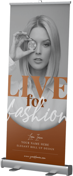 Roll Up Banner Fashion Week 2